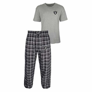 Oakland Raiders Empire Tee & Pant Set - Click to enlarge