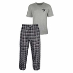 Oakland Raiders Empire Tee & Pant Set