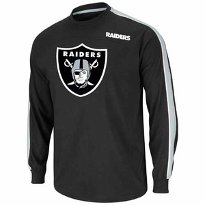 Oakland Raiders End Of Line V Tee - Click to enlarge