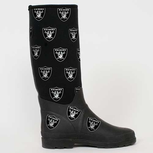 Oakland Raiders Enthusiast Boot - Click to enlarge