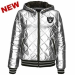 Oakland Raiders Extra Point Quilted Jacket