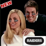 Oakland Raiders Eye Black Strips