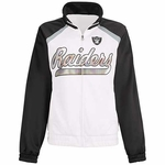 Oakland Raiders Fair Catch Track Jacket