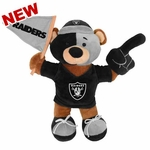 Oakland Raiders Fan Bear