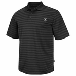 Oakland Raiders Fan Fair Striped Polo