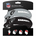 Oakland Raiders Fan Stretch Wrap Two Pack