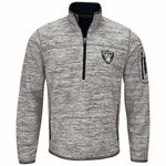 Oakland Raiders Fast Pace Half Zip Jacket