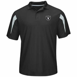 Oakland Raiders Field Classic Polo - Click to enlarge