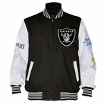Oakland Raiders Final Out Super Bowl Jacket
