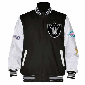 Oakland Raiders Final Out Super Bowl Jacket - Click to enlarge