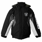 Oakland Raiders First Down Juvenile Midweight Jacket