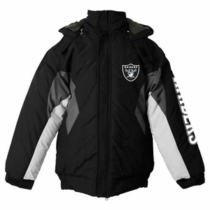 Oakland Raiders First Down Midweight Jacket - Click to enlarge