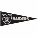 Oakland Raiders Foil Pennant