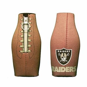 Oakland Raiders Football Bottle Coolie - Click to enlarge