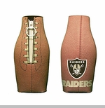 Oakland Raiders Football Bottle Coolie