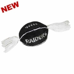 Oakland Raiders Football Catnip Toy