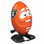 Oakland Raiders Football Wind Up Toy