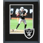 Oakland Raiders Framed Carr Photo