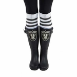 Oakland Raiders Frontrunner Rain Boot