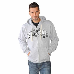 Oakland Raiders Full Contact Fleece - Click to enlarge