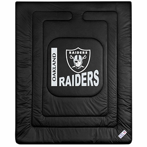 Oakland Raiders Full/Queen Size Comforter - Click to enlarge