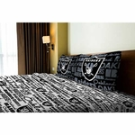 Oakland Raiders Full Raiders Sheet Set