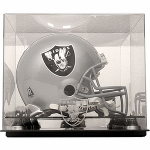 Oakland Raiders Full Size Helmet Display Case - Click to enlarge