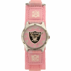 Oakland Raiders Future Star Youth Pink Watch - Click to enlarge