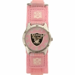 Oakland Raiders Future Star Youth Pink Watch