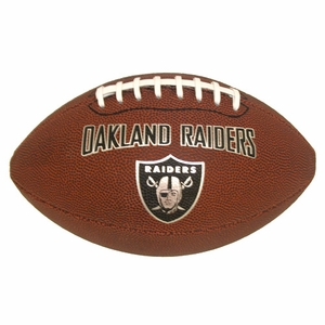 Oakland Raiders Game Time Full Size Football - Click to enlarge