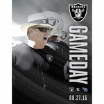 Oakland Raiders Gameday Program vs. Tennessee Titans