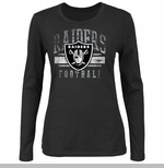 Oakland Raiders Gamer Gear III Black Long Sleeve Tee