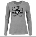 Oakland Raiders Gamer Gear III Grey Long Sleeve Tee