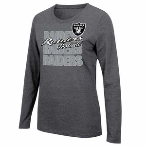 Oakland Raiders Gamer Gear Long Sleeve Tee - Click to enlarge