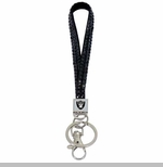 Oakland Raiders Gem Wristlet Key Ring