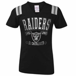 Oakland Raiders Girls Junior Cheer Tee