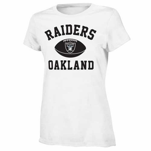 Oakland Raiders Girls Standard Issue Youth Tee - Click to enlarge