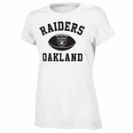 Oakland Raiders Girls Standard Issue Youth Tee