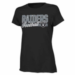 Oakland Raiders Girls Sweet & Loyal Short Sleeve Tee