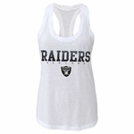 Oakland Raiders Girls Twisted Tank