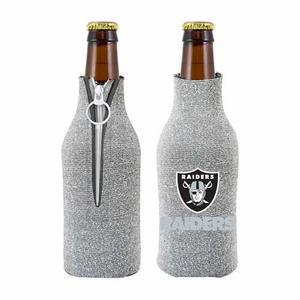 Oakland Raiders Glitter Bottle Coolie - Click to enlarge