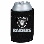 Oakland Raiders Glitter Can Coolie