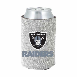 Oakland Raiders Glitter Can Coolie - Click to enlarge