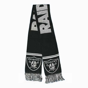 Oakland Raiders Glitter Scarf - Click to enlarge