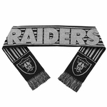 Raiders Glitter Stripe Scarf