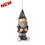 Oakland Raiders Gnome Ornament