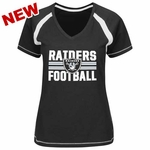 Oakland Raiders Go For Two V Plus Size Tee