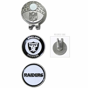 Oakland Raiders Golf Cap Clip - Click to enlarge