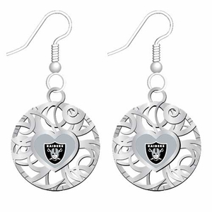 Oakland Raiders Grace Ivy Earings - Click to enlarge