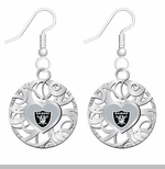 Oakland Raiders Grace Ivy Earings